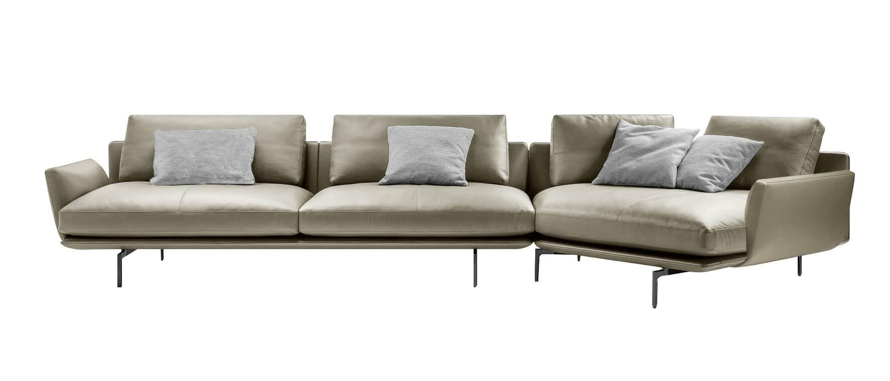皮革L型沙發 現代風格家具 PLAY SOFA 頑沙發 伯爵 Earl