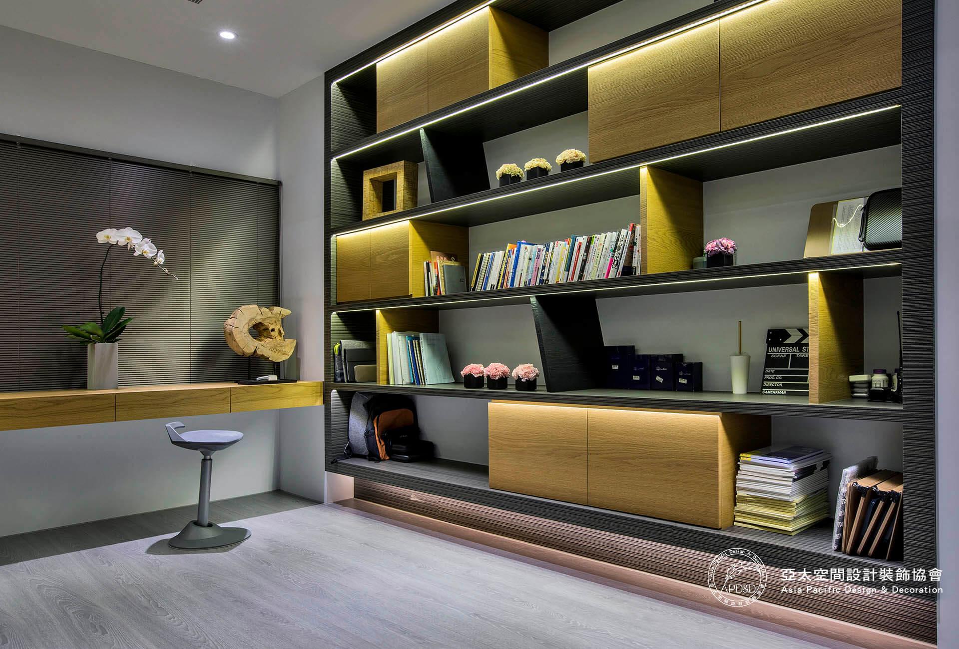閱讀房室內設計 深度空間 蘇炯旭_轉角秘境