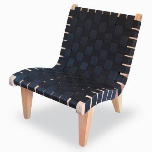 北歐風格皮革單椅 HOT CHAIR