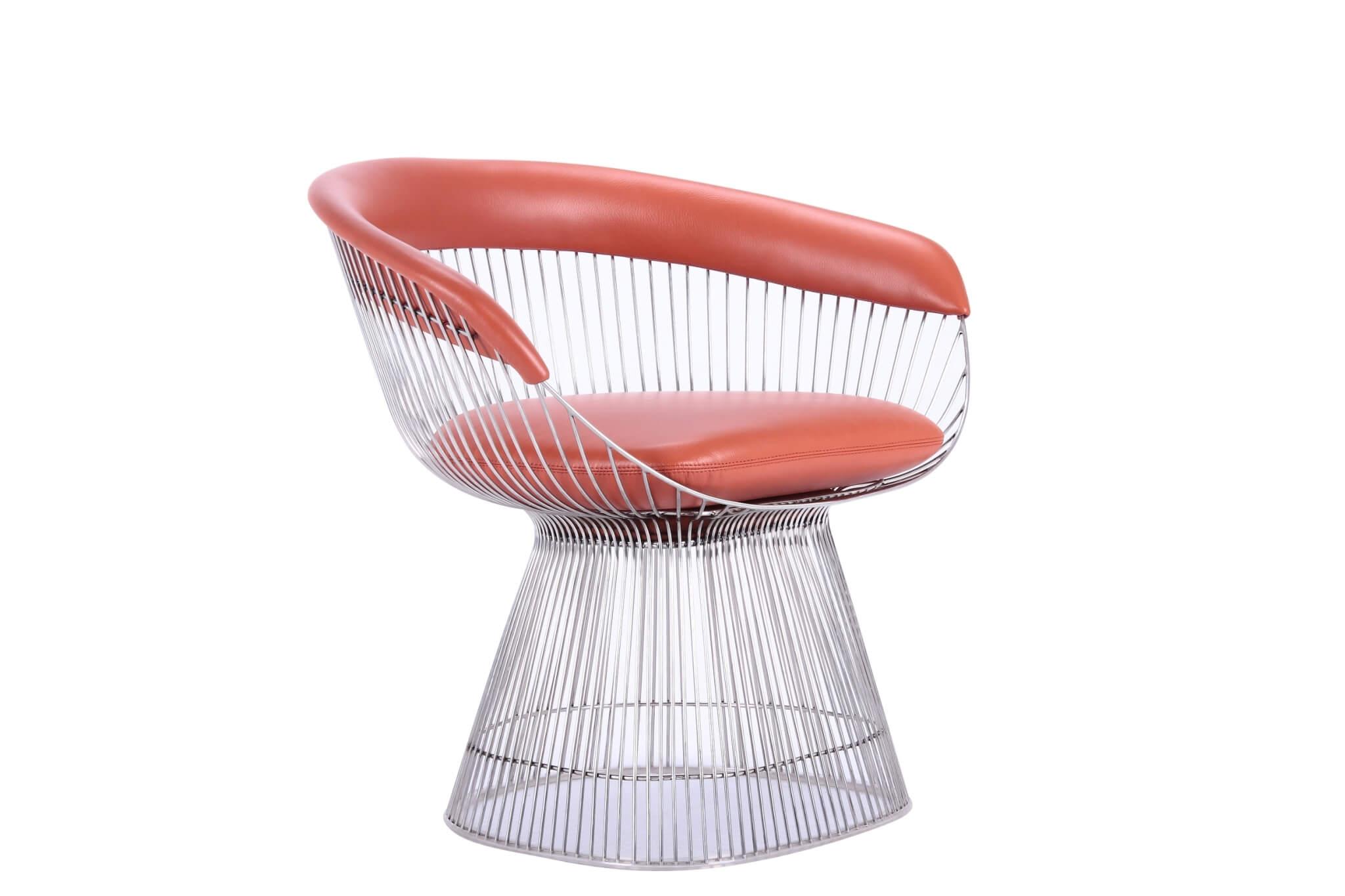 北歐風格皮革單椅設計 HOT CHAIR