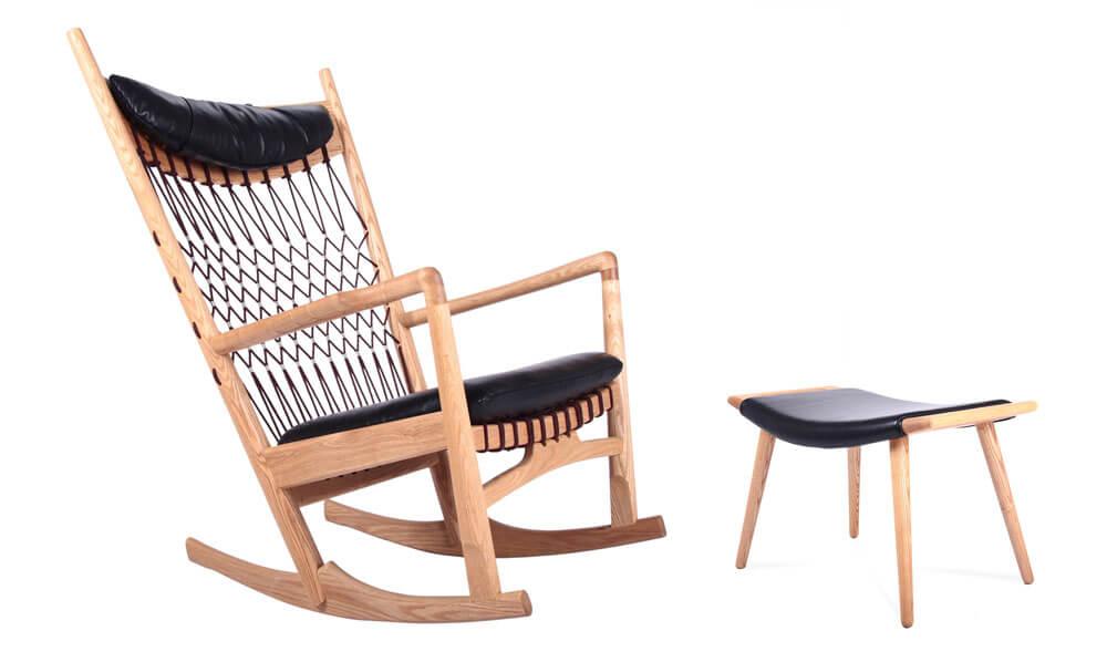 現代風格木製搖椅推薦