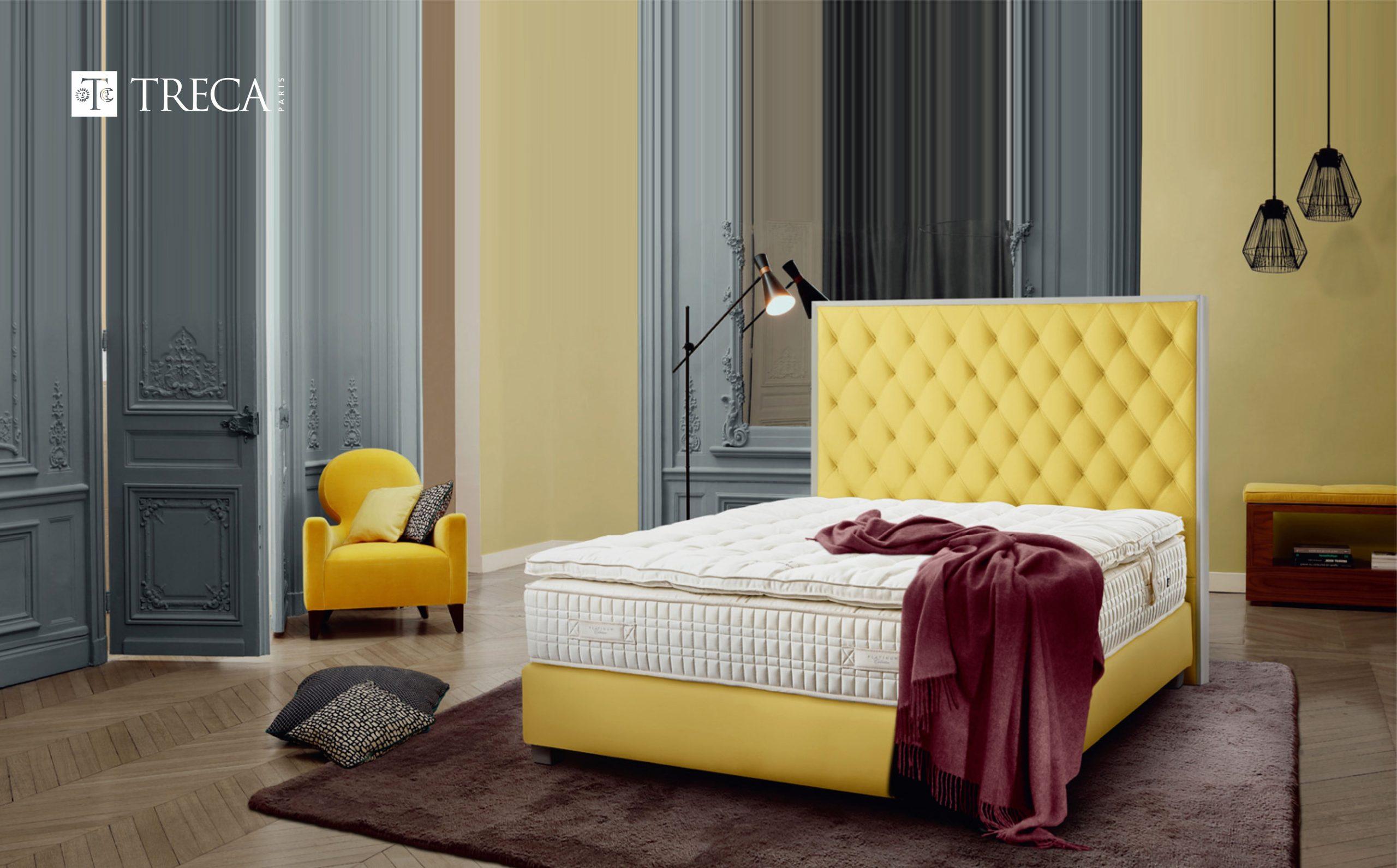 世界名床品牌推薦 進口床墊TRECA PARIS