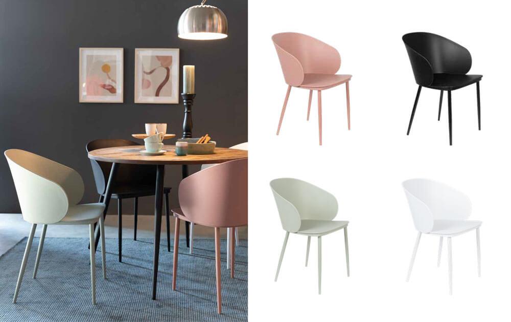 北歐風格餐椅 WHITE LABEL GIGI CHAIR