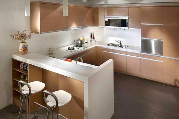 nykitchen 紐約廚衛 系統家具 廚房 原木花色