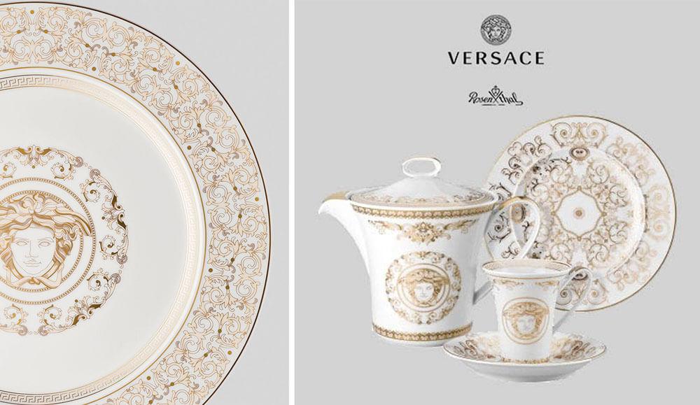 頂級家飾精品品牌 Versace Rosenthal Medusa Gala 金色饗宴