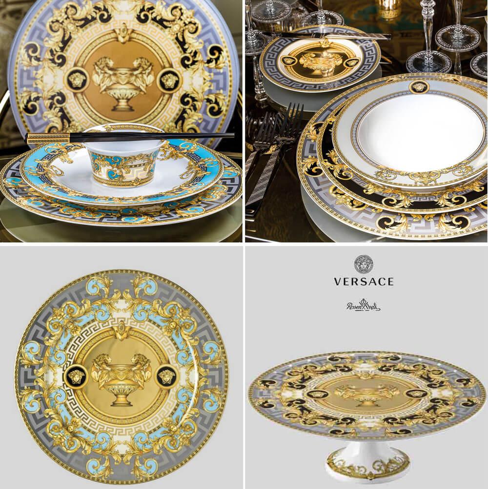 頂級家飾精 設計瓷盤 Versace Rosenthal Prestige Gala浮華宴