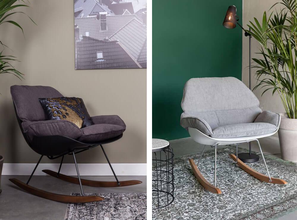 北歐風格進口傢俱 休閒椅 WHITE LABEL Rocky lounge chair