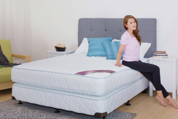 台灣床墊品牌 雙人家大床墊 德泰彈簧床&My Side床墊