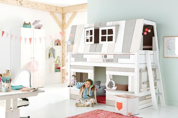 丹麥進口兒童家具 實木兒童床 LIFETIME KIDSROOMS