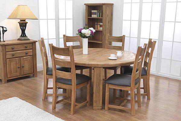華麗家居 古典風格餐桌餐椅子