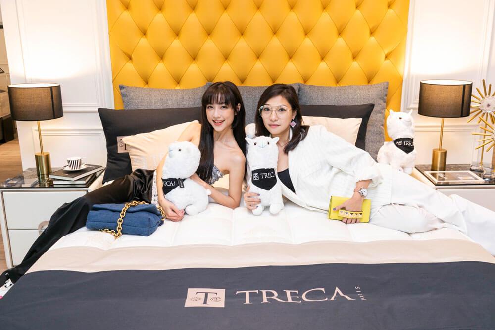 法國TRECA Paris + DeRUCCI 慕思開幕酒會 藝人 林采薇與于承洢