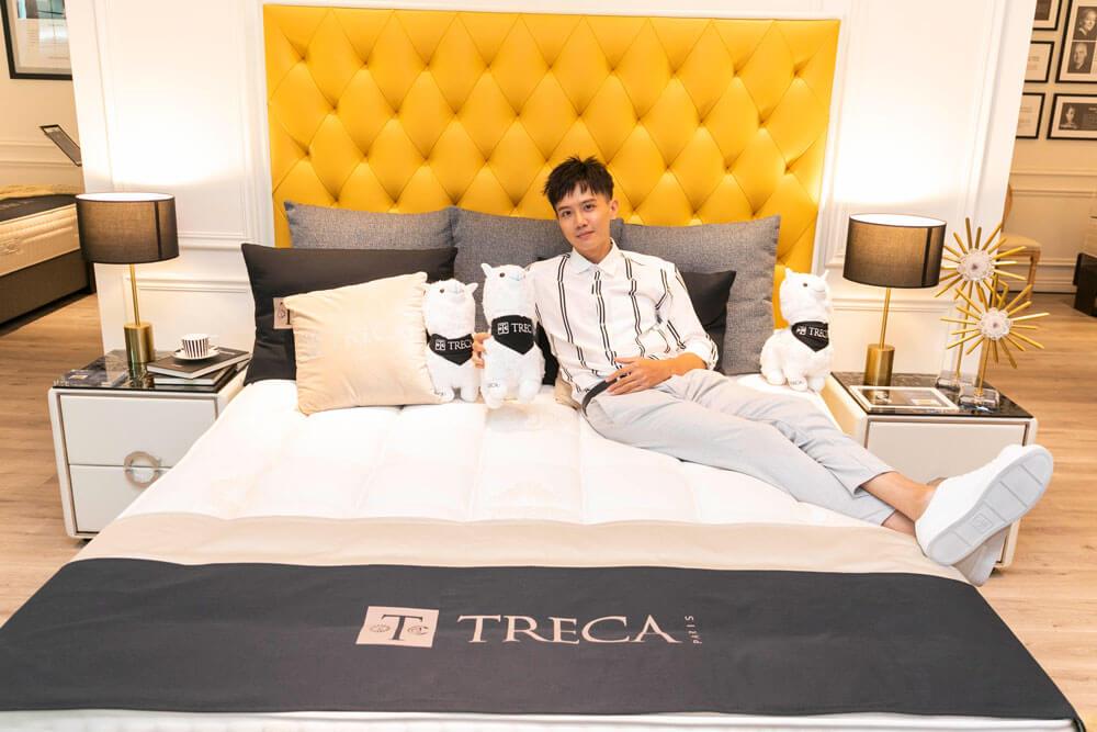 法國TRECA Paris + DeRUCCI 慕思開幕酒會 藝人 陳重谷