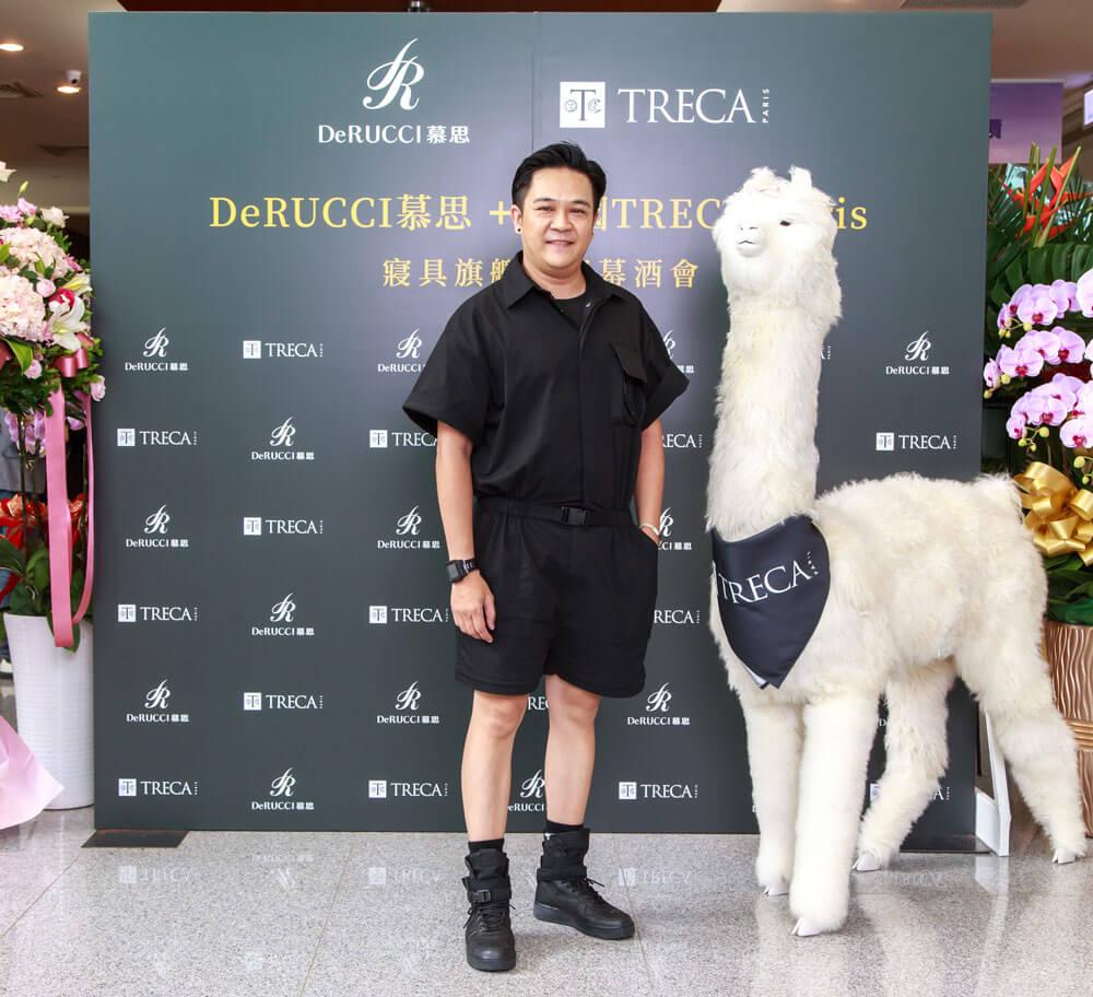 法國TRECA Paris + DeRUCCI 慕思開幕酒會 知名彩妝師 Azzurro