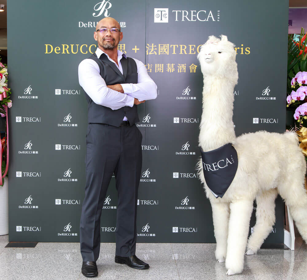法國TRECA Paris + DeRUCCI 慕思開幕酒會 健美冠軍 陳孔文