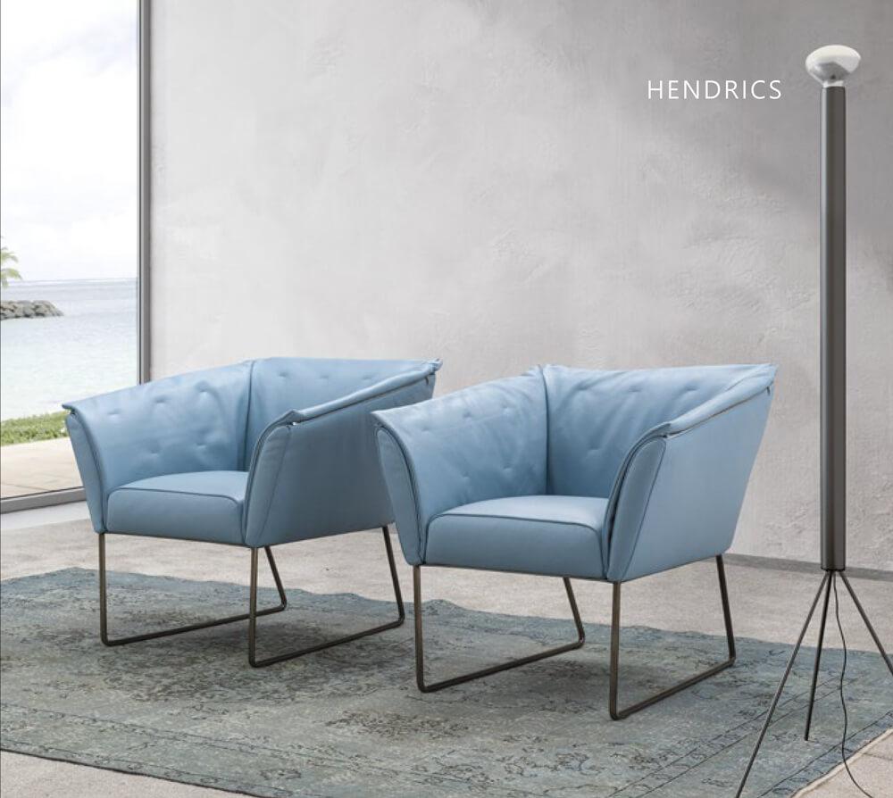 ALPA SALOTTI義大利皮革單椅推薦