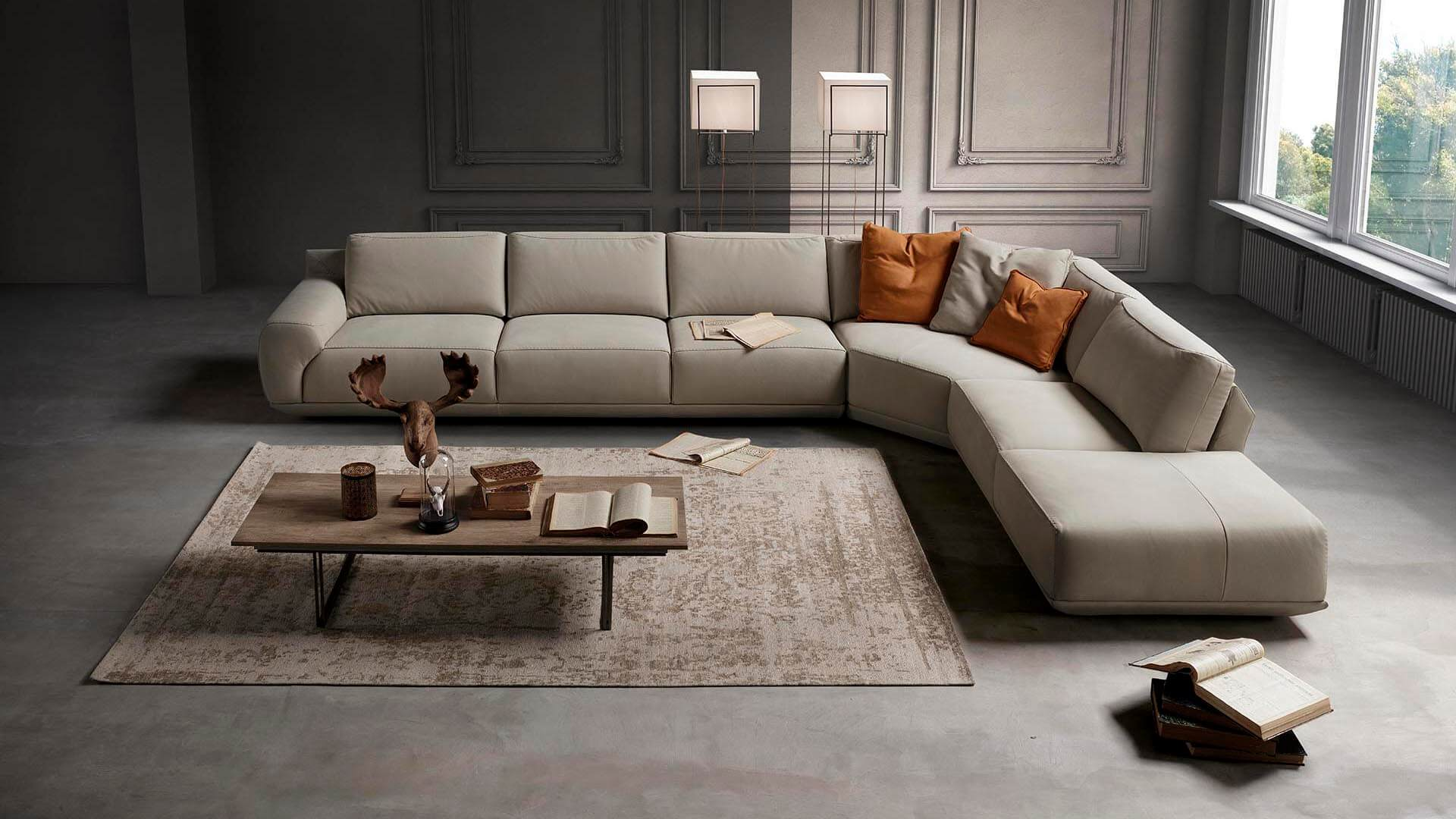 Rossini_sofa_Italy 義大利沙發