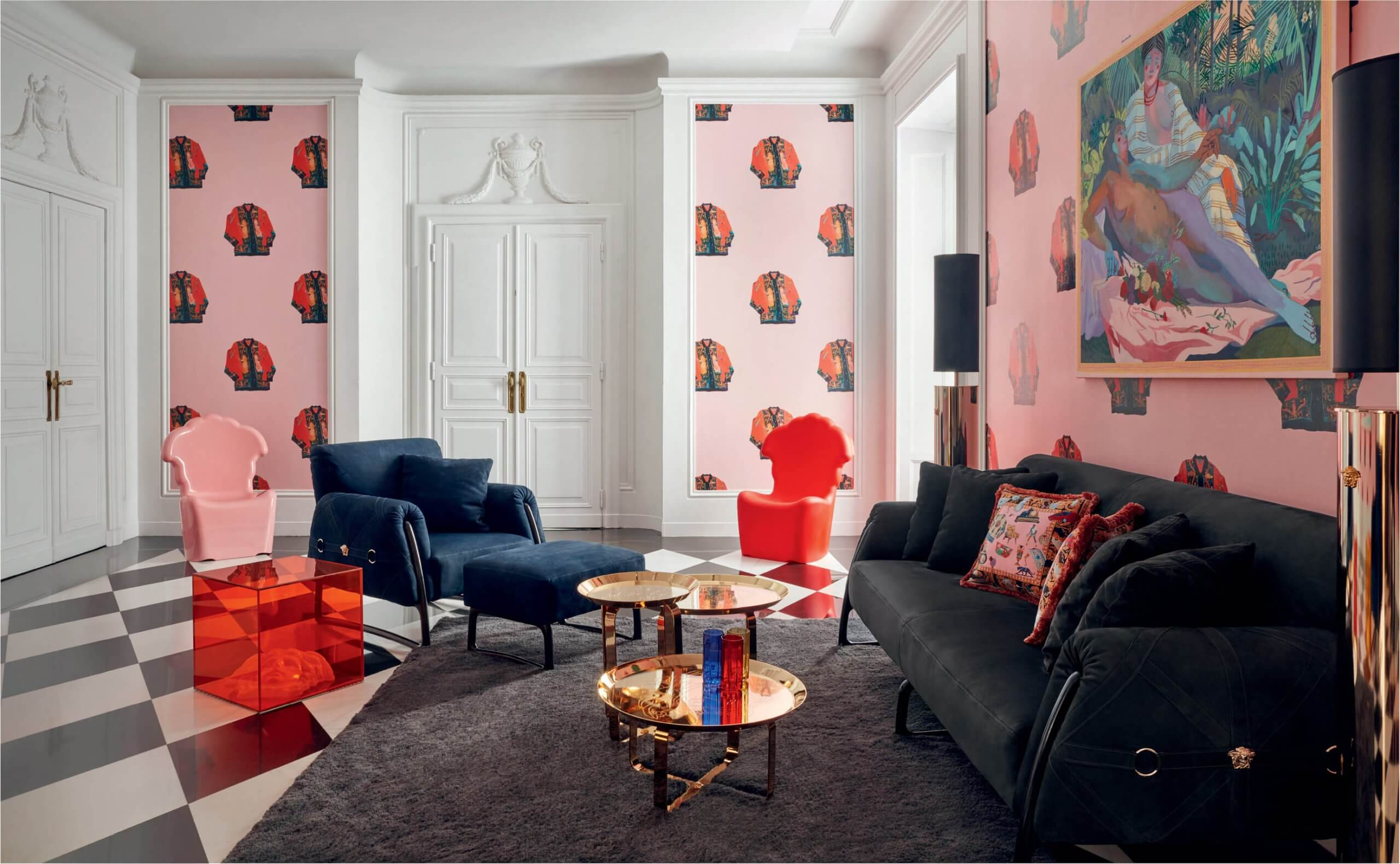 Versace Home 義大利經典時尚風格設計家具
