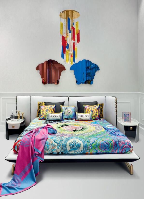 Versace Home 主臥室床組